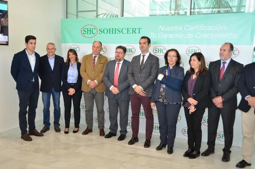 La empresa sohiscert abre nueva oficina en almer a for Oficinas unicaja almeria