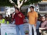 Francisco Vargas y Andrés Góngora, presidente de ASAJA Almería y secretario provincial de COAG, respectivamente.