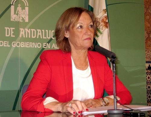 La consejera de Agricultura, Pesca y Desarrollo Rural de la Junta de Andalucía, Carmen Ortiz.