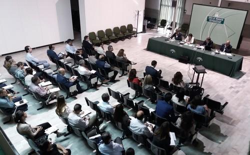 """Rafael Peral ha destacado que en esta Ley se van a reflejar """"las tres perspectivas de la sostenibilidad: social, ambiental y económica""""."""