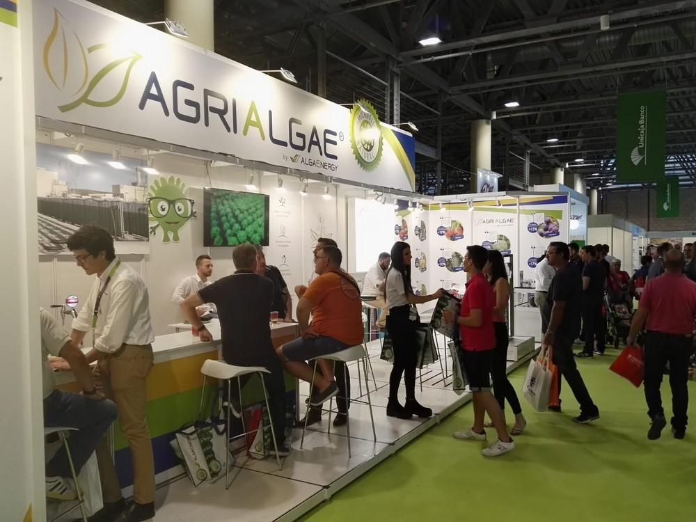 Gran éxito de AlgaEnergy en Infoagro Exhibition