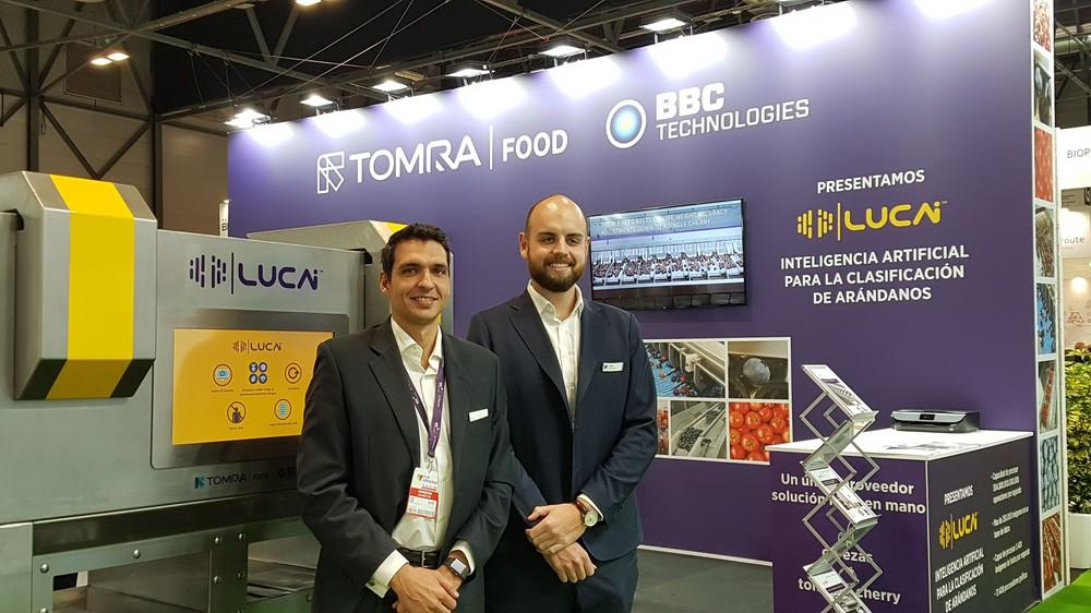 Tomra Food, Compac Y BBC Technologies muestran nuevas e innovadoras soluciones en Fruit Attraction 2019